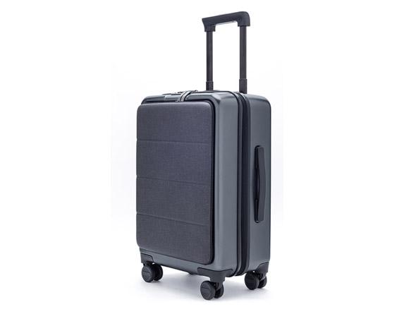 小米米家轻商务旅行箱拉杆箱 男女万向轮登机行李箱 钛金灰 20英寸 双密码锁